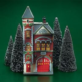 Red Brick Fire Station $55.00 SALE $30.00