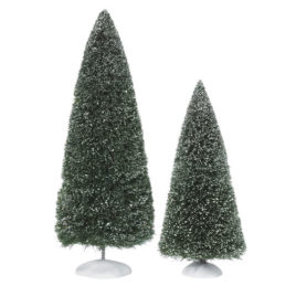 Bag-O-Frosted Topiaries 2 Piece Large