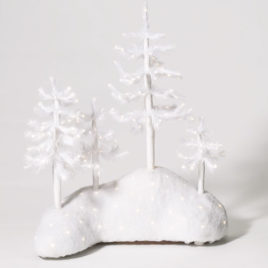 Fiber Optic Woods-White Trees $48.00 SALE $35.00