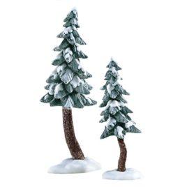 Flocked Pine Trees $16.00 SALE $12.00