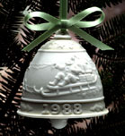 1988 Christmas Bell