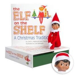 Elf on the Shelf Tradition - Boy