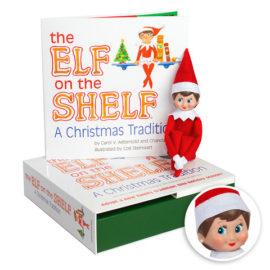 Elf on the Shelf Tradition - Girl