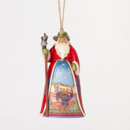 Australian Santa Ornament