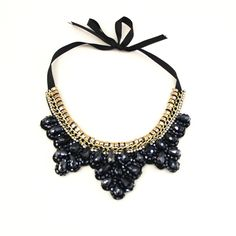 Beaded scalloped Necklace