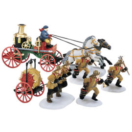The Fire Brigade of London Town