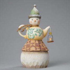 Teapot Snowman