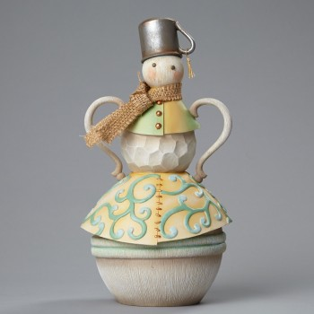 Snowman with Tin cup