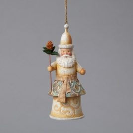 Santa with Pine cone