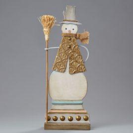 Snowman w/Broom