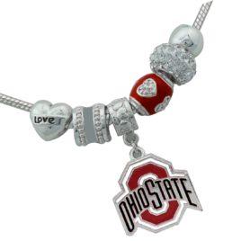 Ohio State Outland Charm Bracelet  – Brooklynn