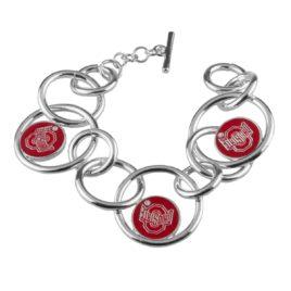 Ohio State Looped Logo Bracelet