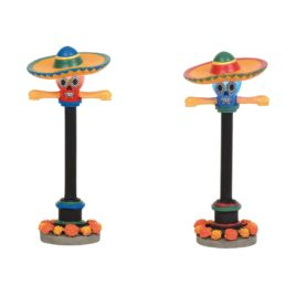 DAY OF THE DEAD STREET LAMPS